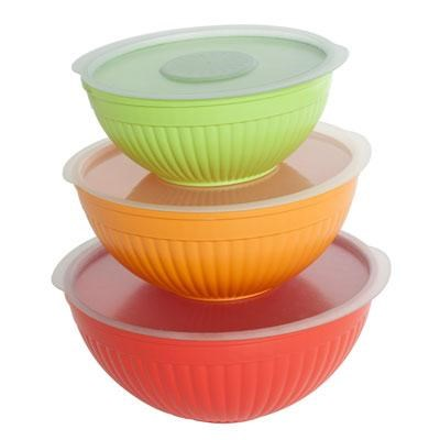 NW 6Pc Covered Bowl Set