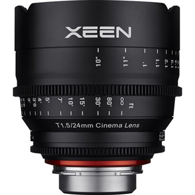 XEEN 24mm T1.5 Professional Cine Lens for Canon EF Mount (OPEN BOX)