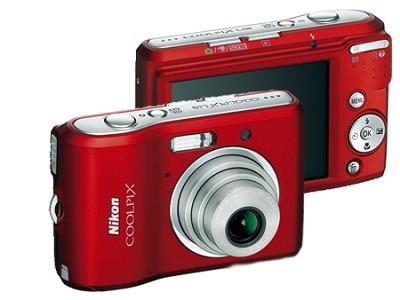Coolpix L18 8MP Digital Camera (Ruby Red)