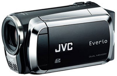 Everio GZ-MS120 Dual SD Card Camcorder - Black