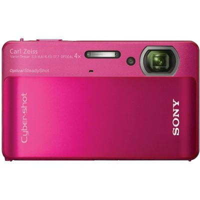 Cyber-shot DSC-TX5 10.2 MP Digital Camera (Red)