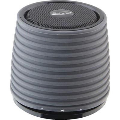 Bluetooth Speaker with LED Pairing Indicator, Black