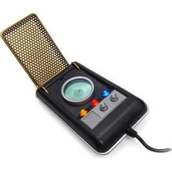 USB Startrek Communicator Accsnet phone with sounds Lights