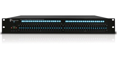 EQ-B7100 Pro Dual 20 Band Graphic Equalizer (Black)