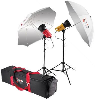 Photo Basics PB500 2-Light Studio Kit