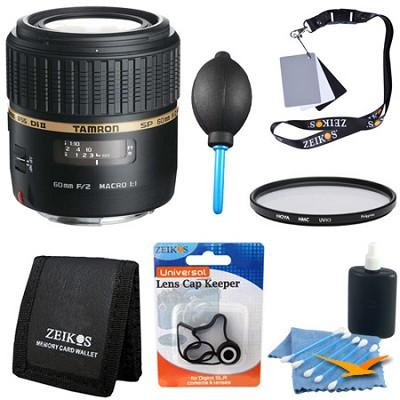 SP AF60mm F2 Di II LD (IF) 1:1 Macro Lens Kit For Nikon AF