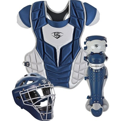 Adult PG Series 7 Catchers Set - Navy/Gray