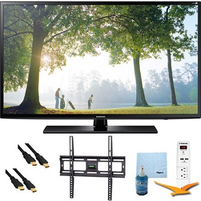 UN55H6203 - 55-Inch 120hz Full HD 1080p Smart TV Plus Mount & Hook-Up Bundle