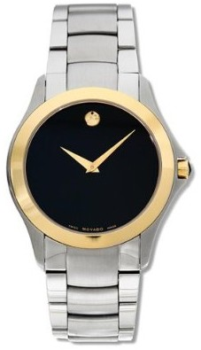 0605871 - Men's Military Collection Two-Tone Watch