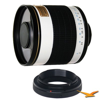 ED500M - 500mm f/6.3 Multi-Coated ED Mirror Lens for Olympus / Panasonic