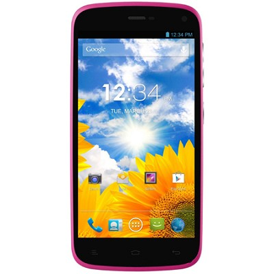 Lifeplay 4.7-Inch Android 4.2 Jelly Bean 4G Unlocked Smart Phone (Pink)