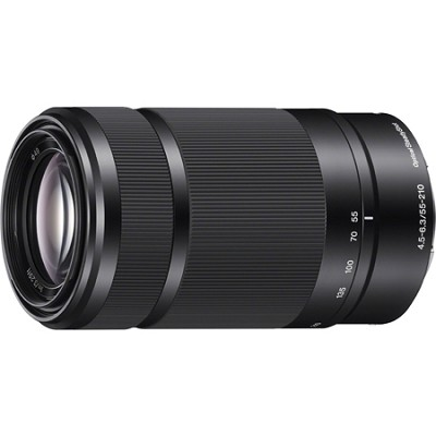 SEL55210 - 55-210mm Zoom E-Mount Lens (Black)