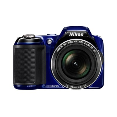 COOLPIX L810 16.1 MP 3.0-inch LCD Digital Camera - Blue