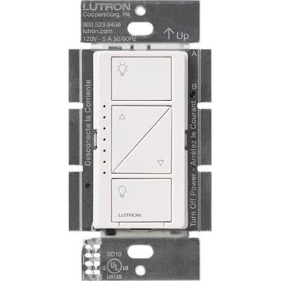 Caseta Wireless Single Pole In-Wall Dimmer, 600/150-Watts - White