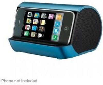 iHM9 Portable Stereo System for iPod, iPhone, and MP3 Players (Blue)