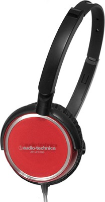 ATH-FC700ARD Portable Headphones (Red)