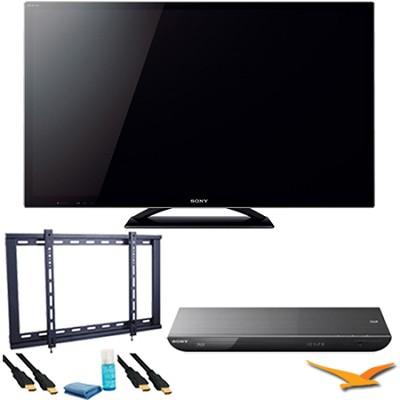 KDL46HX850 - 46` LED HX850 Internet TV Plus Blu-Ray Bundle