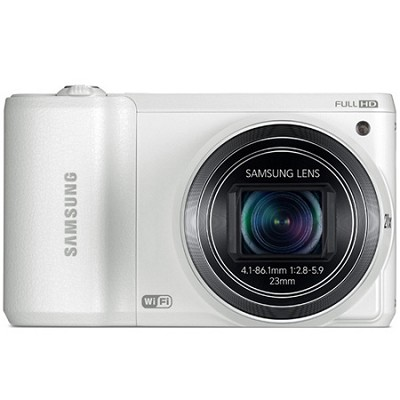 WB800F 16.3 MP Smart Camera with Built-in Wi-Fi - White - OPEN BOX