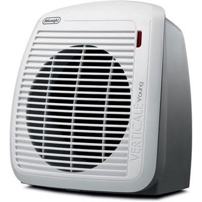 HVY1030 1500-Watt Fan Heater - Gray with White Face Plate