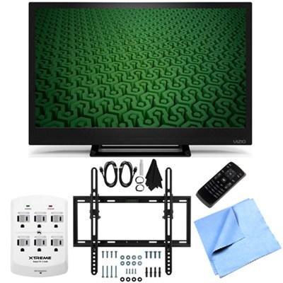 D24H-C1- 24-Inch Full HD 720p 60Hz LED HDTV Flat/Tilt Wall Mount Bundle