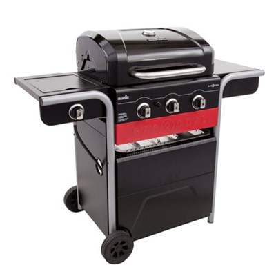 Professional Gas/Charcoal 420 Series 3-Burner Gas and Charcoal Grill (463370516)