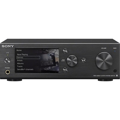 HAP-S1/B 500GB HDD Hi-Resolution Black Music Player System