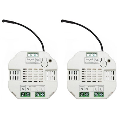 Aeotec Z-Wave Micro Dimmer 2nd Edition DSC27103-ZWUS 2 Pack