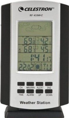 47001 Compact Weather Station (Black/Silver)