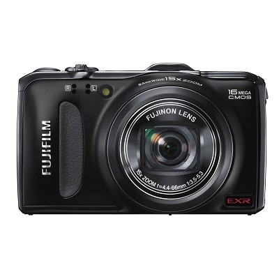 FinePix F600EXR 16 MP Digital Camera with CMOS Sensor and 15x Optical Zoom
