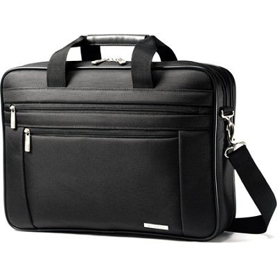 Classic Business Two Gusset Laptop Bag - 15.6`