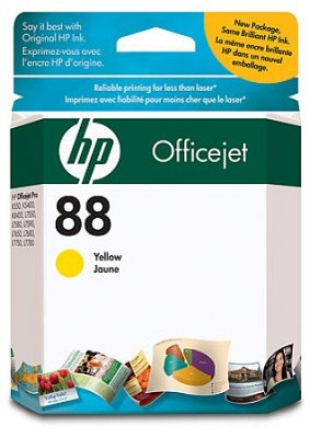 88 Yellow OfficeJet Ink Cartridge - 900 pages