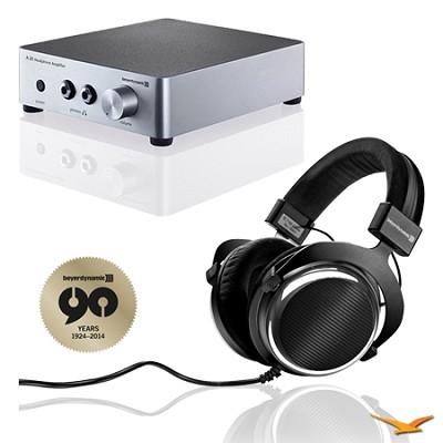 T90 Chrome Exclusive Limited Edition Audiophile Headphones & A20 Amp Bundle