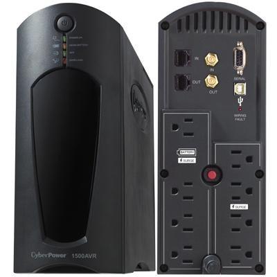 1200VA 720W AVR Uninterruptible Power Supply - CP1200AVR