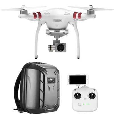 Phantom 3 Standard Quadcopter Drone with 2.7K HD Video and Hardshell Backpack
