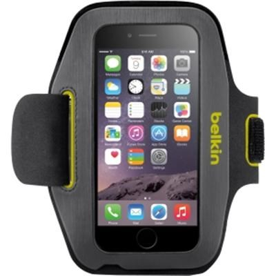 Sport-Fit Plus Armband in Black and Limelight for Apple iPhone 6 - F8W500-C02