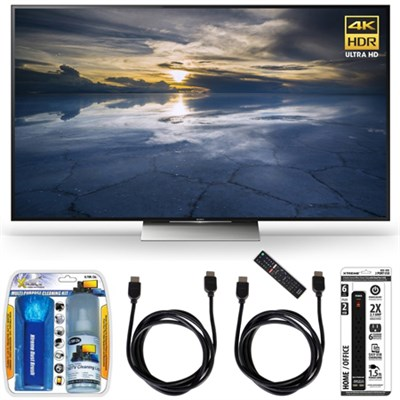 XBR-55X930D 55-Inch Class 4K HDR Ultra HD TV Accessory Bundle