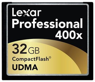 Media LCF32GCRBNA400 Compactflash Card 32GB 400X CF