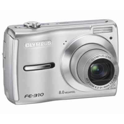 FE-310 8MP Digital Camera (Silver) - Refurbished