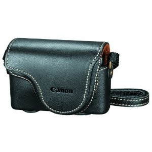 PSC-910 Deluxe Leather Case for Powershot S90, S95, S100 and S110 Digital Camera