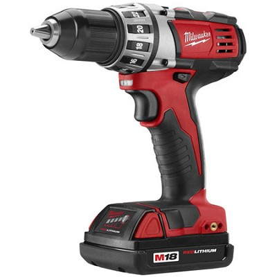 2601-22 M18 Cordless LITHIUM-ION Compact Drill Driver With 2 Batteries