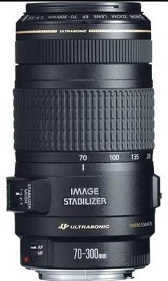 EF 70-300mm F/4-5.6 IS USM Lens, CANON AUTHORIZED USA DEALER- REFURBISHED