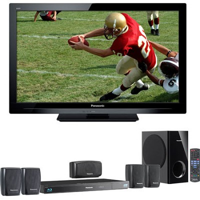 32` VIERA HD 1080p LED TV TC-L32E3 & SC-BTT270 3D Blu Ray Home Theater