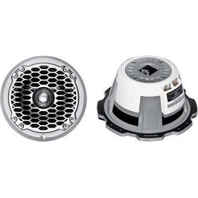 6.5` Marine Grade Coax/Component Speaker-White 75w RMS/150w peak