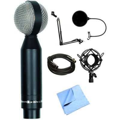 Figure 8 Double Ribbon Microphone M130 with Stand Bundle