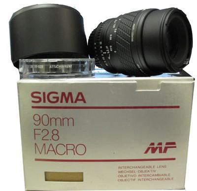 90mm f/2.8 Macro  Nikon MF - OPEN BOX