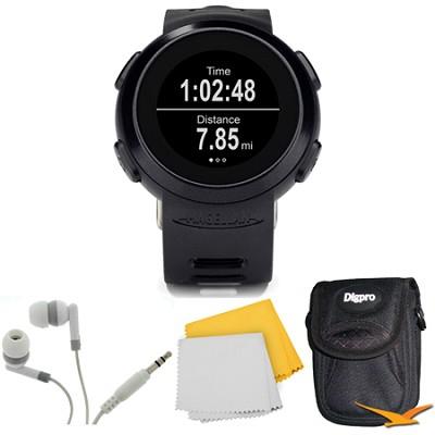 Echo Smart Running Watch Bundle (Black)