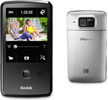 Playtouch Chrome 1080p HD Video Camera Camcorder w/ 3.0` Touchscreen