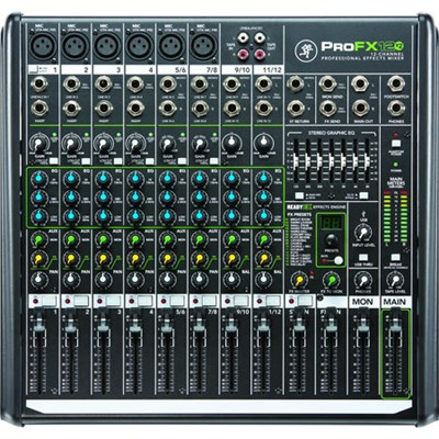 ProFX12v2 12-Channel Professional FX Mixer with USB
