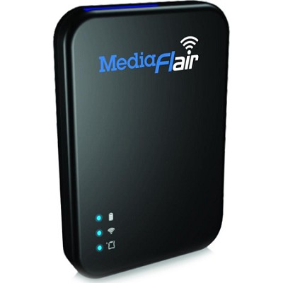 84-000031-01 Portable Wi-Fi Streaming Media Storage W/ 8GB Sandisk Ultra SD Card