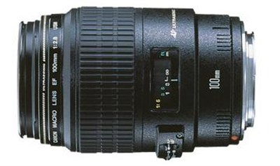 EF 100mm F/2.8 Macro Lens, With Canon 1-Year USA Warranty - OPEN BOX